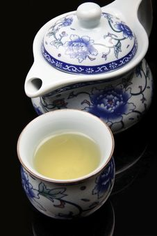Free Chinese Tea Set Stock Photography - 17427562
