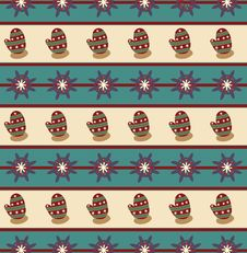 Free Seamless Wallpaper Pattern Stock Images - 17427604