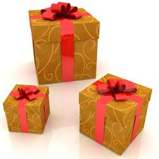 Free Gift Boxes Stock Images - 17427624