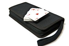 Bag For Games Royalty Free Stock Image