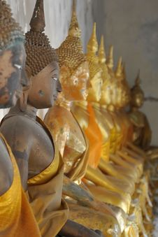 Free Buddhas Stock Photography - 17428402