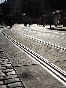 Free Rail Tracks Stock Images - 17428664
