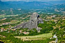 Free The Meteora Mountains Royalty Free Stock Photography - 17428747