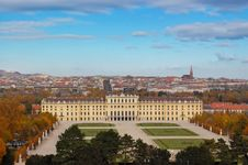 Free Schonbrunn Palace, Austria Stock Photography - 17429182