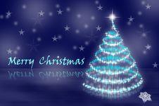 Free Abstract Christmas Tree Stock Photography - 17429712