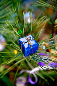 Free Christmas Gift Stock Image - 17429781