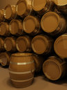Free Perspective Of Barrels Royalty Free Stock Photo - 17430135