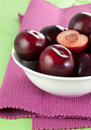 Free Red Plums Royalty Free Stock Image - 17431236