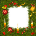 Free Christmas Background With Christmas Tree. Royalty Free Stock Image - 17432726