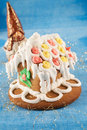 Free Traditional Christmas Gingerbread House Royalty Free Stock Images - 17439279