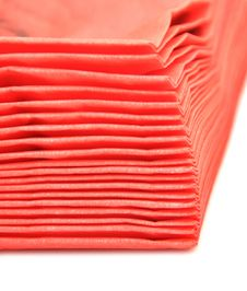 Free Red Paper Napkins Royalty Free Stock Images - 17430069