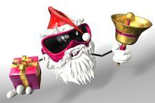 Free Happy Santa Royalty Free Stock Photos - 17430118