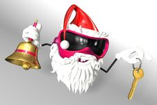 Free Happy Santa Royalty Free Stock Images - 17430139