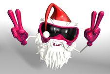 Free Happy Santa Stock Image - 17430151