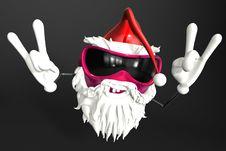 Free Happy Santa Royalty Free Stock Photo - 17430165