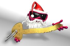 Free Happy Santa Royalty Free Stock Photo - 17430175