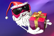 Free Happy Santa Stock Photography - 17430232