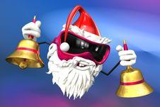 Free Happy Santa Stock Image - 17430281