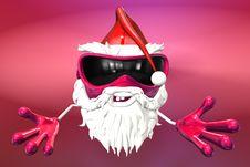 Free Happy Santa Royalty Free Stock Images - 17430299