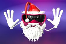 Free Happy Santa Royalty Free Stock Photo - 17430315
