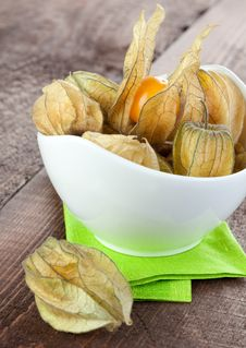 Free Gooseberry In Bowl Stock Images - 17430554