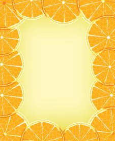 Free Orange Background Royalty Free Stock Photos - 17430668