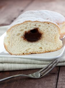 Free A Half Donut Stock Photos - 17430953