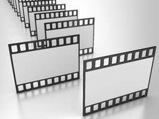 Free Film Strip Stock Photography - 17431232