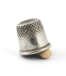Free Thimble And Pea Royalty Free Stock Photos - 17431288