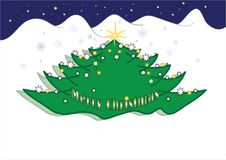 Free Christmas Tree Royalty Free Stock Photos - 17431448