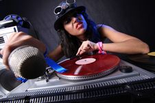 Free Cool DJ In Action Stock Images - 17432074
