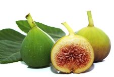Free Composition Of Fig And Fig Leaf Royalty Free Stock Photos - 17432238