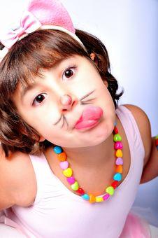 Free Girl With Pink Tutu Stock Photos - 17432643