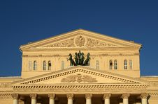 Bolshoi Theatre, Moscow, Russia Stock Images
