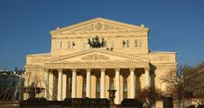 Free Bolshoi Theatre, Moscow, Russia Royalty Free Stock Photos - 17432928