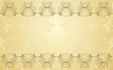 Free Greeting Card. Vector Royalty Free Stock Images - 17433069