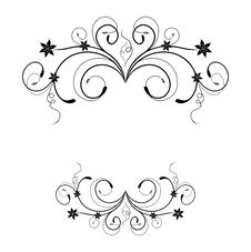 Free Floral Frame Stock Images - 17433174