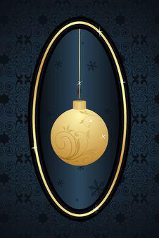 Free Decorative Christmas Frame Stock Image - 17433251