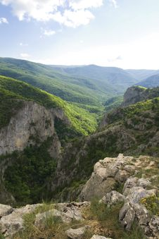 Free The Great Canyon Of Crimea Royalty Free Stock Image - 17433256