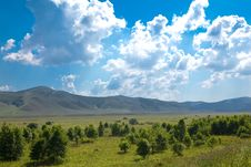 Free Landscape Of Grassland In Inner Mongolia Royalty Free Stock Photography - 17433327