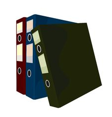 Free Realistic Illustration Of Close Folders Stock Photos - 17433393