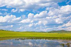 Free Landscape Of Grassland Royalty Free Stock Image - 17433456