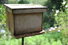 Free Bee Farm Royalty Free Stock Image - 17433536