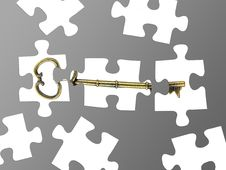 Free Jigsaw Pieces Stock Photography - 17433942
