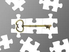 Free Jigsaw Pieces Royalty Free Stock Photography - 17433957