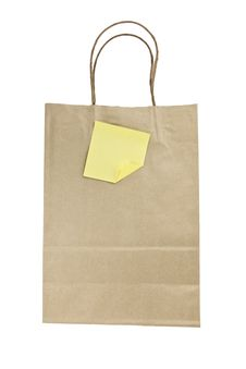 Free Brown Paper Bag Royalty Free Stock Photography - 17434467