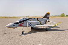 Free Radio Control Toy Aircraft With Electric Motor Stock Photography - 17434862