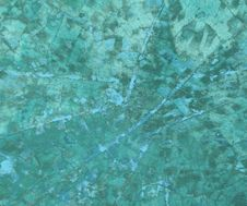 Grungy Jade Mosaic On Canvas Royalty Free Stock Photography