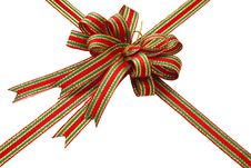 Free Red Ribbon Bow Royalty Free Stock Image - 17435596
