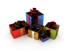 Free Christmas Gifts Stock Images - 17435674